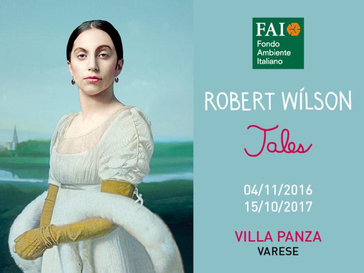 Robert Wilson for Villa Panza. Tales_visual